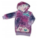 Bamboo velour 'princess' hoody