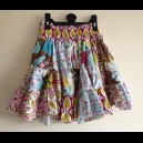Kaleidoscope Patchwork Twirl Skirt